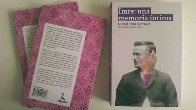 Edward Prime-Stevenson : Imre: una memoria íntima