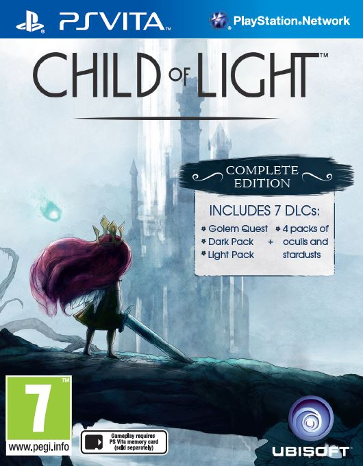 Child of Light portada Vita