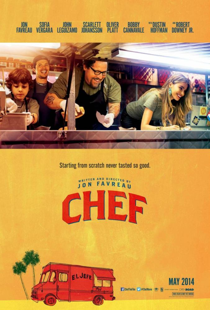 Chef 2014 póster